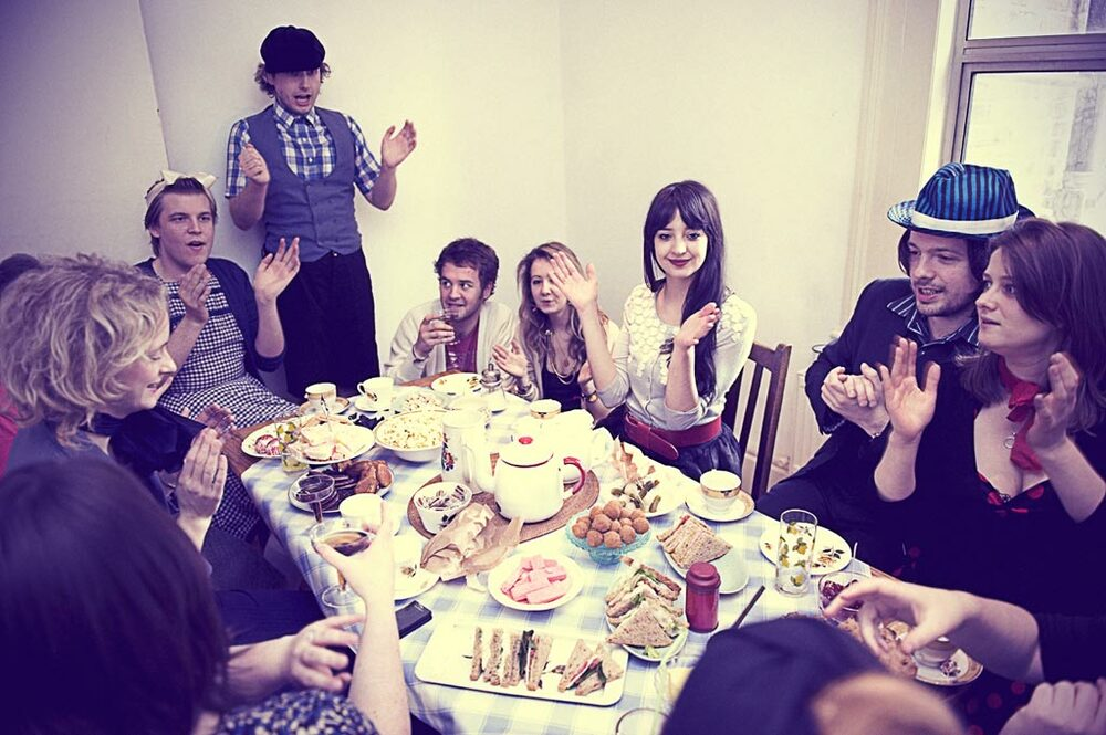 The Skinners' tea, food styling and space design