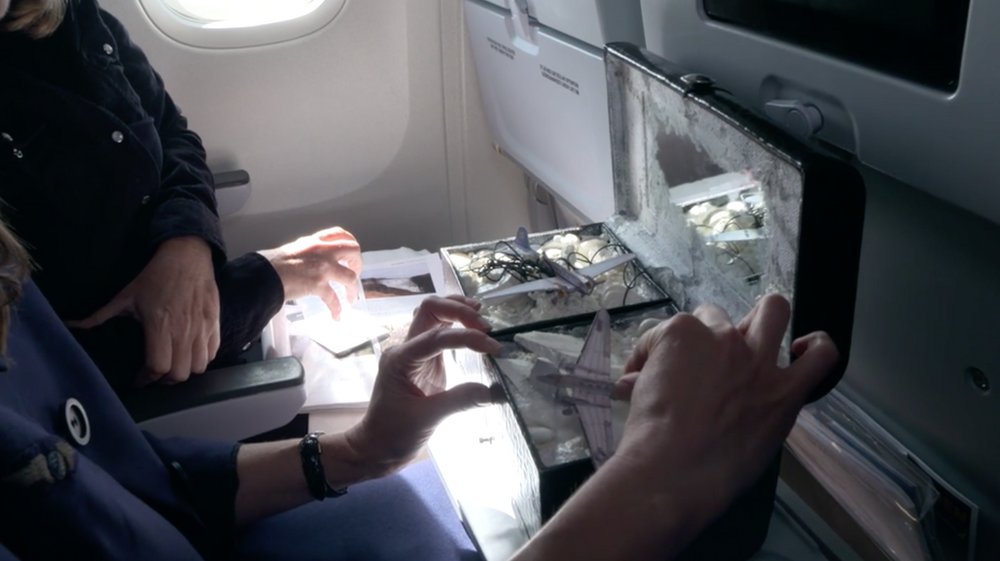 Mini World depicting a historic moment in Icelandair's history