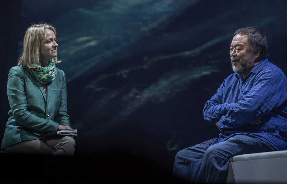 The inimitable Ai Wei Wei interviewed by Emma Jane Kirby