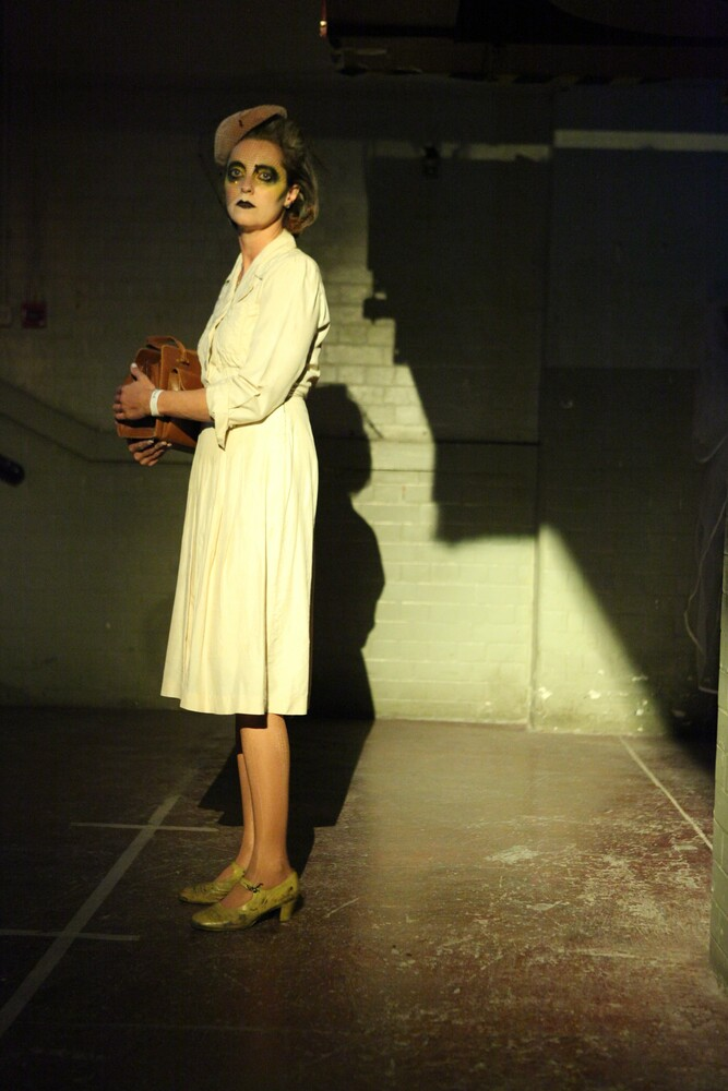 Kate Ashcroft as the dispossessed