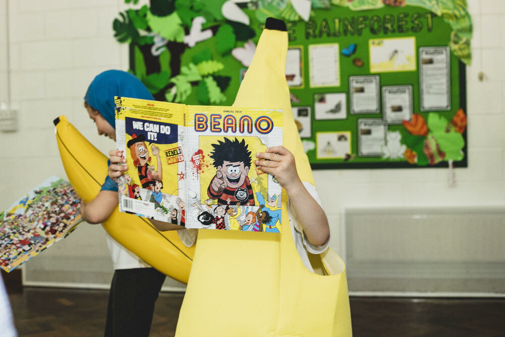 All the participants won a copy of the latest Beano Annual