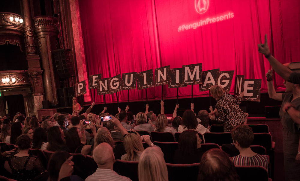 Penguin Imagines. Immersive, participatory Event