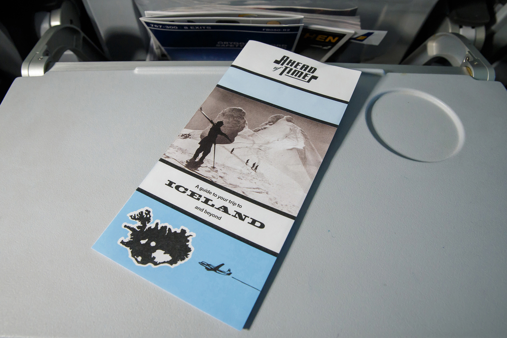 'In World' Leaflet Design for Ahead of Time