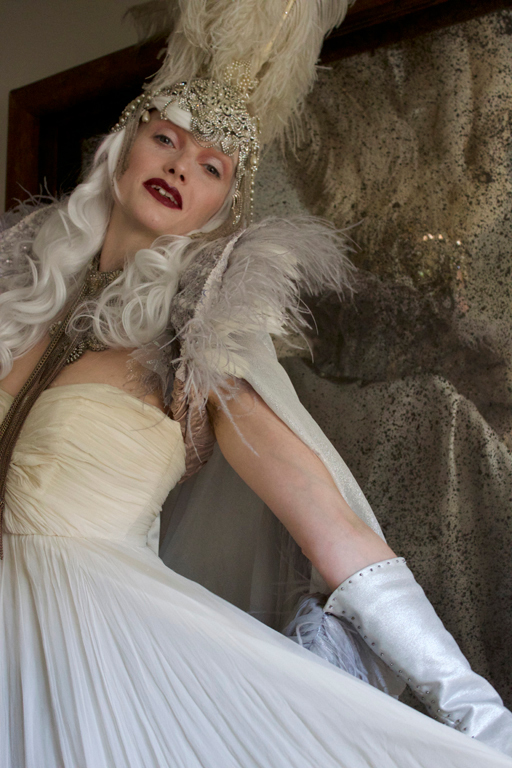 Sonya Cullingford as the White Queen
