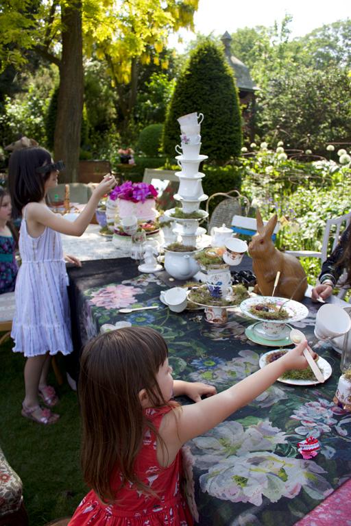 The Mad Tea table
