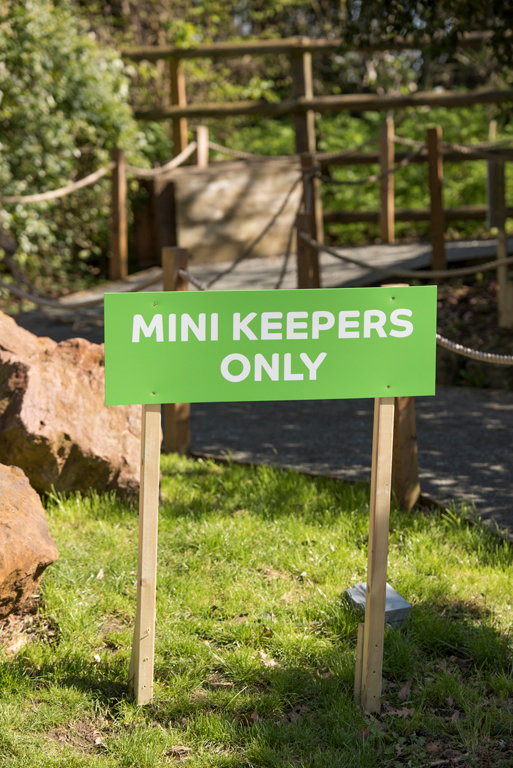 The Mini Keepers was a Family learning project