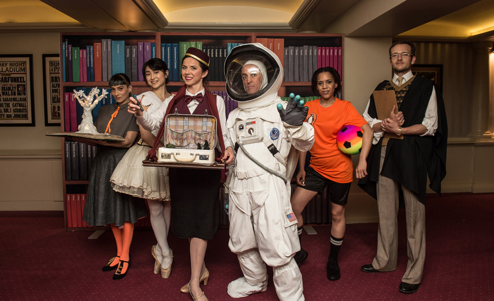 Costumes and Characters inspired by Audience's memories of being 7 years old