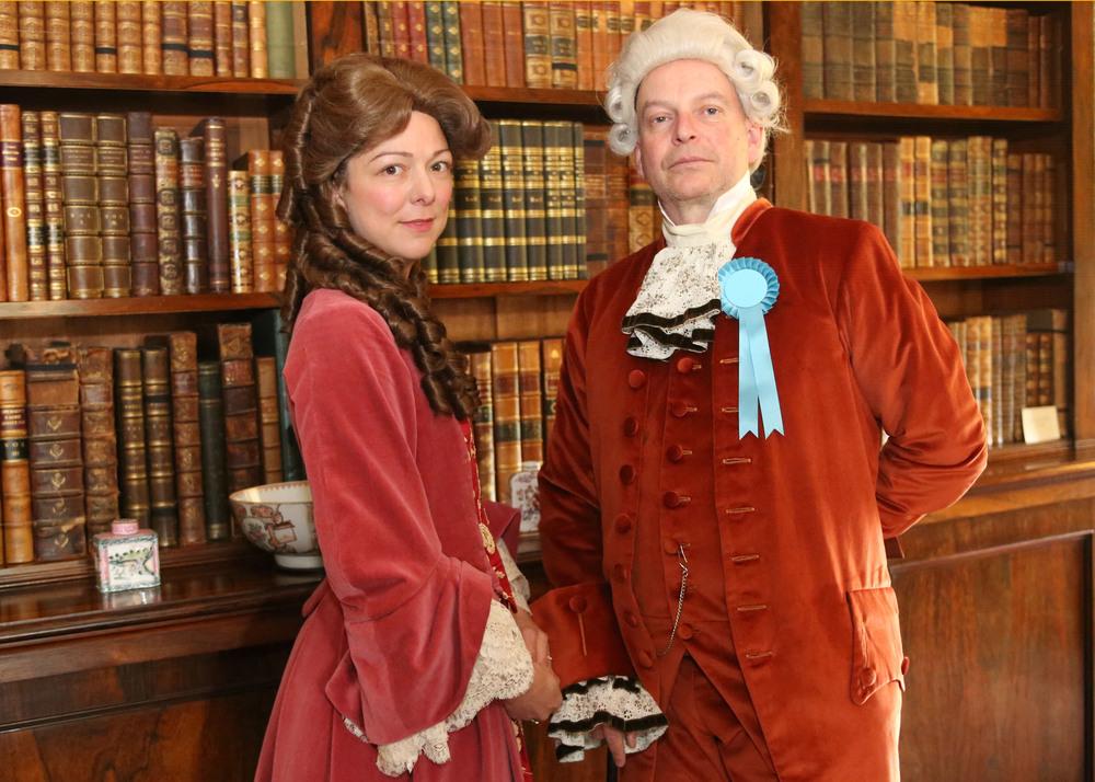 Geoff Beale and Hetty Burton