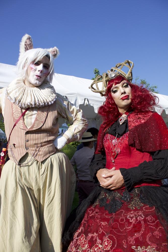 Spectacular costumes