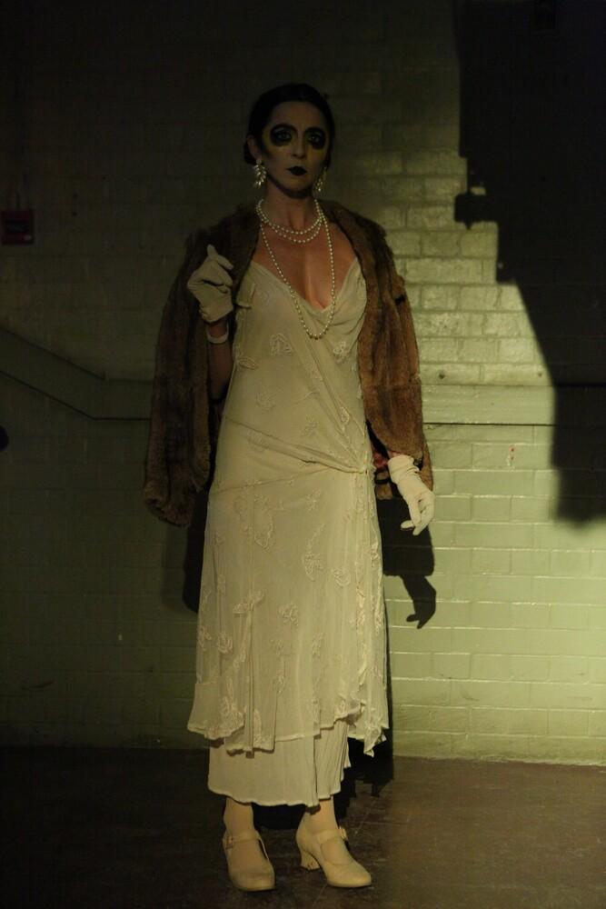 Kathryn McGarr as the lost one