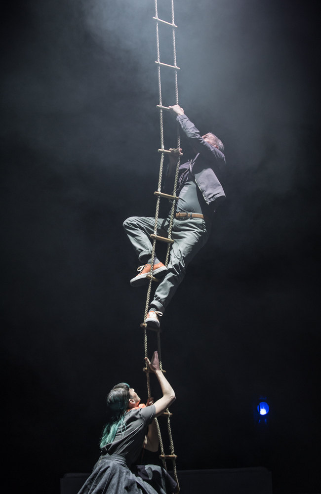 Matt Costain and High Performance lead on the Aerial elements of the show